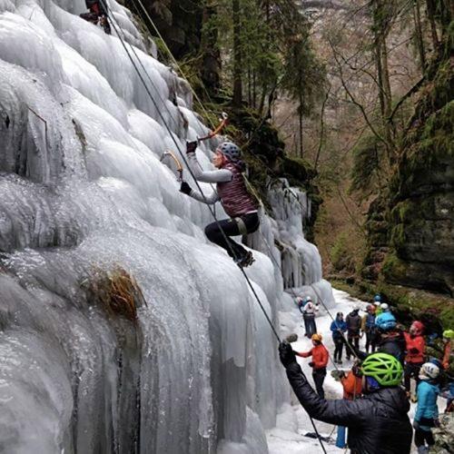 arrampicata su ghiaccio Altopiano di Asiago