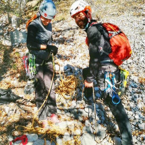 arrampicare a dro
